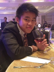 First time to taste Red Wine....