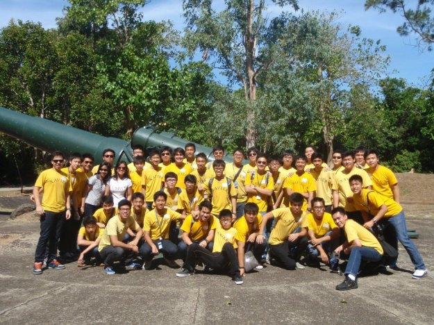 Class field trip and bonding session in Corregidor