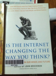 The power of the internet has definitely changed the way we live but how has it also affected the way we think?
