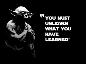 Just like what Yoda said, Mrs. Lim emphasized the importance of breaking bad habits. She truly was an English Yoda.