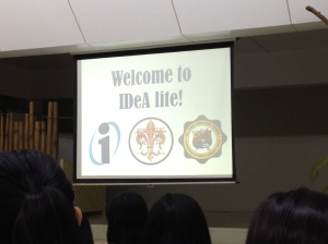 My First Debate Tournament, Idea Lite in St. Paul College, Pasig!