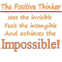 Positivity is the key to success!