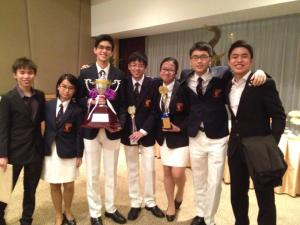 With the Champion team, ACJC! Your team really deserved it! Congrats again!