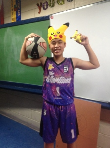 Just like my senior year, my creative costume couldn't have been more eccentric, crazy or unique as wearing a Martian jersey with a Pikachu hat =))