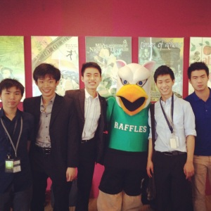 The Xavier Debate Team with GRIFFLESS!!!!