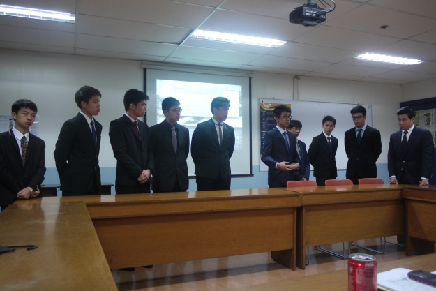 Group picture during the oral defense :) Looking good fellas!