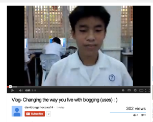 Silver Linings in January 2013 - How A Grade 7 Video Blog Started It All