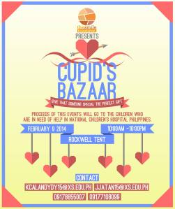 Come and support Duck Delights at the Cupid's Bazaar in the Rockwell Tent this Sunday, February 9, 2014!