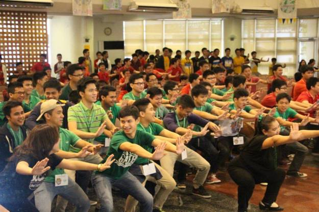 The EDSOR participants going through a Wu-Shu Session