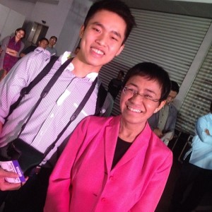 With Maria Ressa, the CEO and founder of Rappler.com and more importantly, one of the greatest Filipino journalists turned entrepreneur!