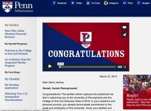 This has been my dad's dream school for me :) super glad that I made it!!