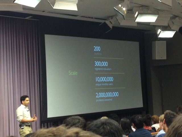 Khan Academy: A Free World Class Education - Salman Khan@Stanford