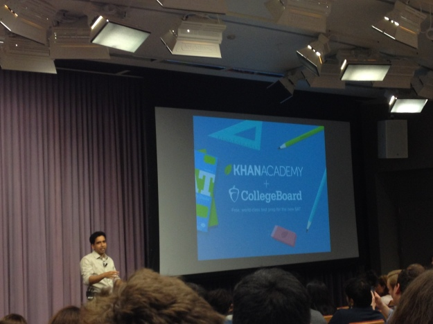 The partnership of Khan Academy and College Board is great news for high school students all over the world!