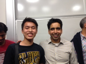 It was such an honor getting to hear this man speak live at Stanford!