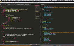 These colorful lines of code can actually be so powerful :)