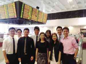 At the Philippine Stock Exchange trading floor