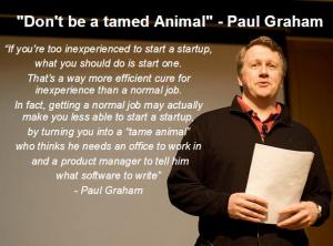 Paul Graham was the guest speaker for this week's lecture