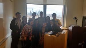 The PennSEM team with Mr. Kimel