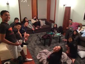 Bonding session with the PennSEM team